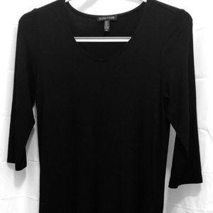 Eileen Fisher Black Dress, Size S/P, Black